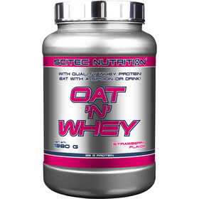 SCITEC Oat and Whey Polvere 1380g, Strawberry